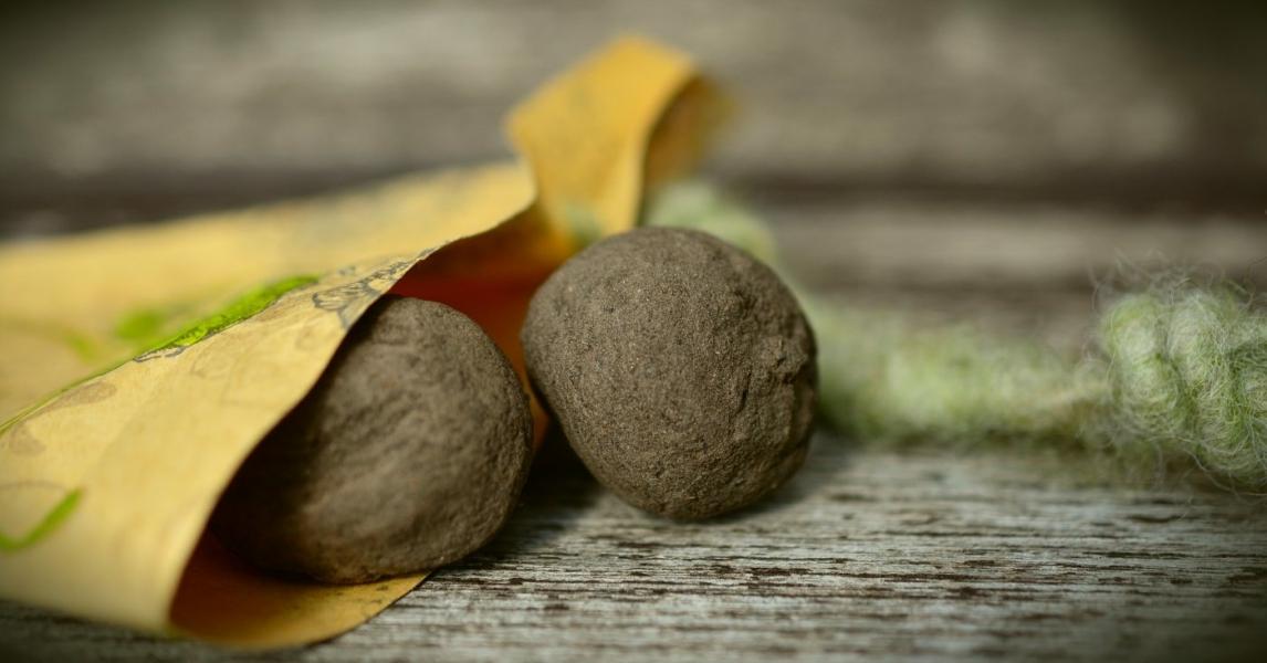 Nachhaltig schenken: DIY Seed Bombs -