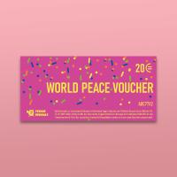 Gutschein »World Peace Voucher«