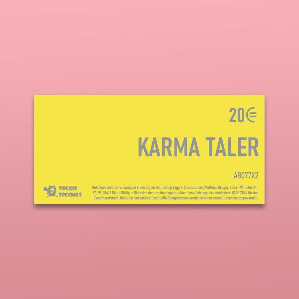 Gutschein »Karma Taler«